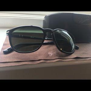 Persol PO3019S Green Tinted Sunglasses